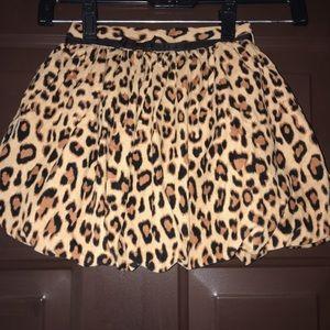 Babygap cheetah print skirt